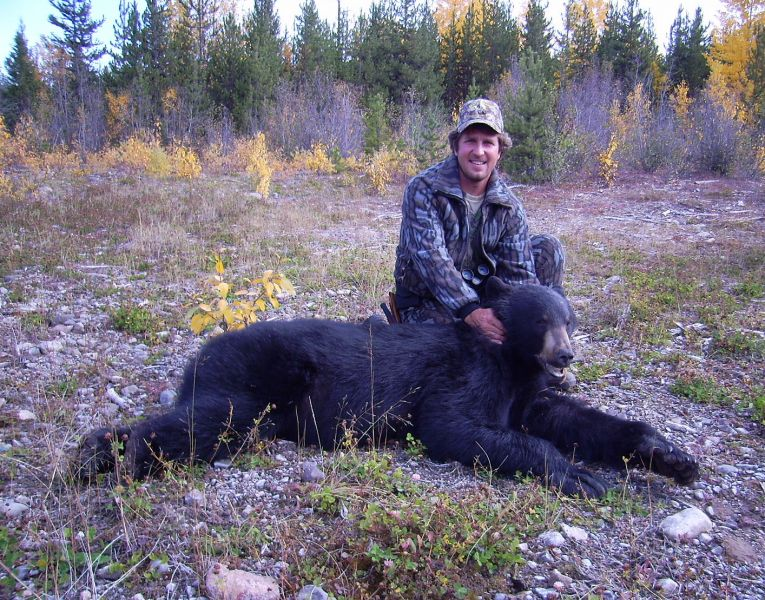 Northern BC Black Bear Guided Hunts - Nanikalakeoutfitters.com