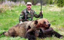 8 Foot Mountain Grizzly