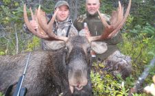 Mark Solowoniuk and Chinny 42 Inch Bull Moose