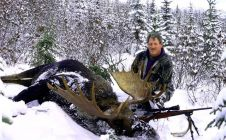 Late Season 50 Inch Bull Moose